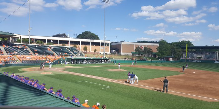 The Tigers defeated Georgia Tech 8-7 in game one