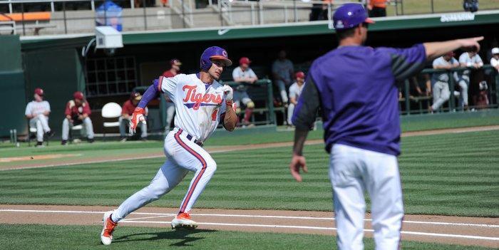 Eli White reaches on a third inning single