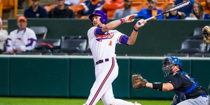 Wilson launches his three-run homer