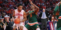 Jaron Blossomgame earns ACC honor