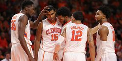 Clemson Basketball holds awards banquet