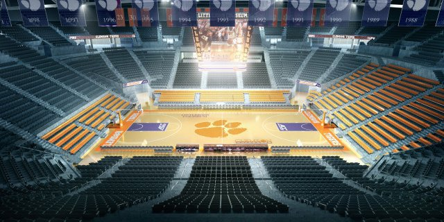 A rendering of how the new Littlejohn will look (Credit:  clemsontigers.com)