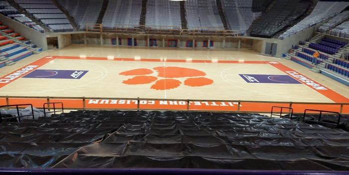 Clemson will show off the renovated Littlejohn Coliseum Friday