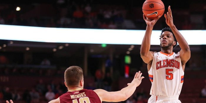 Blossomgame led Clemson with 23 points (Photo by Dawson Powers, USAT)