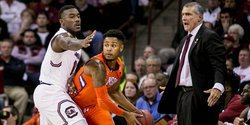 Tigers pluck ranked Gamecocks 62-60 in rivalry thriller