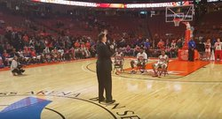 WATCH: Brownell, seniors address crowd after UVA game