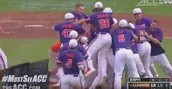 WATCH: Clemson wins ACC-Record 10th Baseball Championship