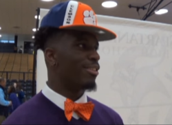 WATCH: Tavien Feaster on National Signing Day