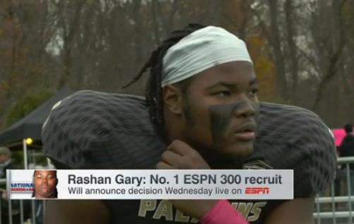 WATCH: Is Rashan Gary heading to Clemson?
