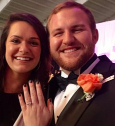 Clemson players with back-to-back marriage proposals at awards banquet