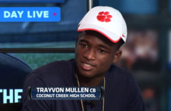 WATCH: Trayvon Mullen on committing to Clemson