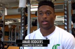WATCH: Meet 4-Star Clemson Commit Amari Rodgers