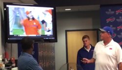 WATCH: Rex Ryan proud of son's play at press conference