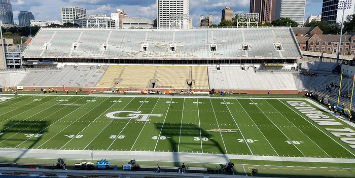 LIVE from Atlanta, Georgia - Clemson vs. Georgia Tech.