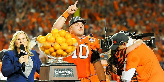 Boulware was named Defensive MVP of the Orange Bowl