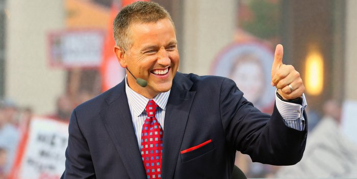 Kirk Herbstreit thinks Deshaun Watson is the best player in the country (Photo by Raymond Carlin, USAT)