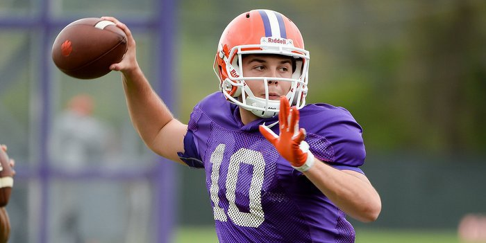 Tucker Israel has a chance to make a name for himself this spring