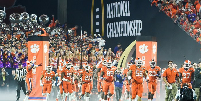 Clemson played for the national championship last season