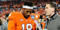 Jets call Clemson wide receiver at