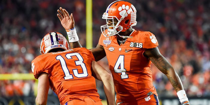 Hunter is one of Deshaun Watson's  favorite targets