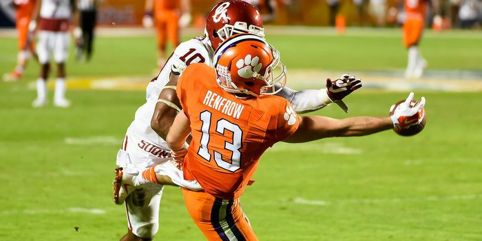 Hunter Renfrow could be back for FSU on Oct. 29th