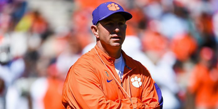 Swinney said he hopes Clemson fans make the trip to Orlando