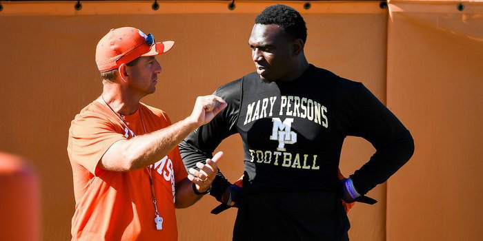 If Swinney can get Malik Herring to sign on the dotted line, Clemson's 2017 class will soar