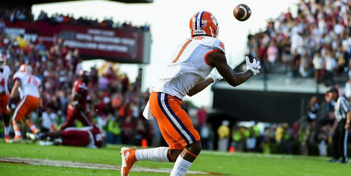 This catch against South Carolina was big for the Tigers