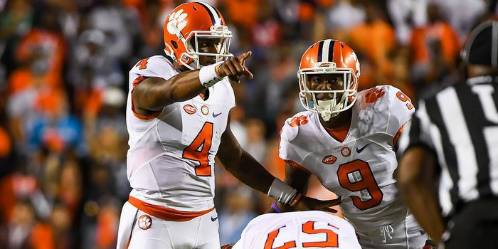 Watson and Gallman are averaging five less carries per game
