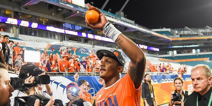 Watson says his goal is to bring a national title to Clemson