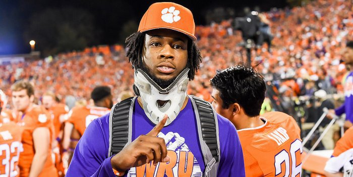 A healthy Mike Williams is a big boost for the Clemson offense