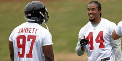 Two Tigers listed as defensive starters for Falcons