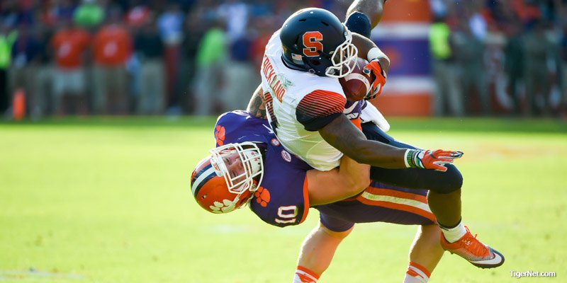 Boulware thinks the WWE may give him a call after this tackle