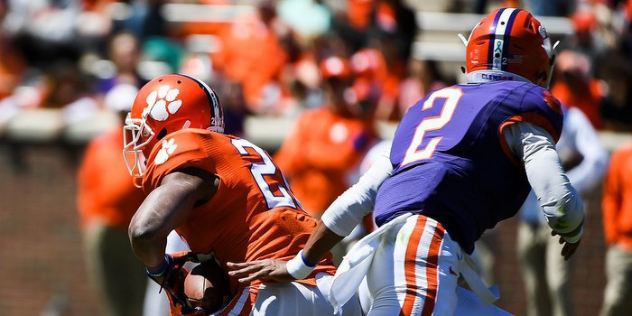 Adam Choice and Kelly Bryant are both battling for second team spots