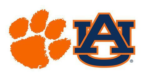 Clemson and Auburn kick off at 9:05 pm EST