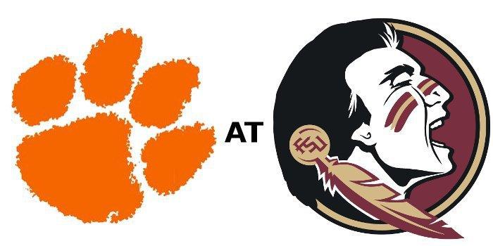 Clemson and FSU kick off at 8:22 pm Saturday