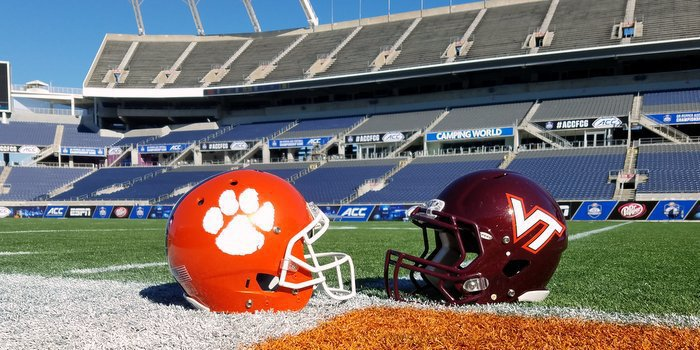 The Tigers and Hokies will kick off a little after 8 p.m. Saturday