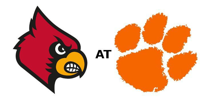 Clemson and Louisville kick off at 8:22 pm