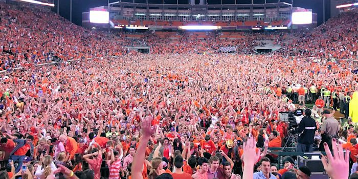 Clemson's crowd should be out in full force for Auburn