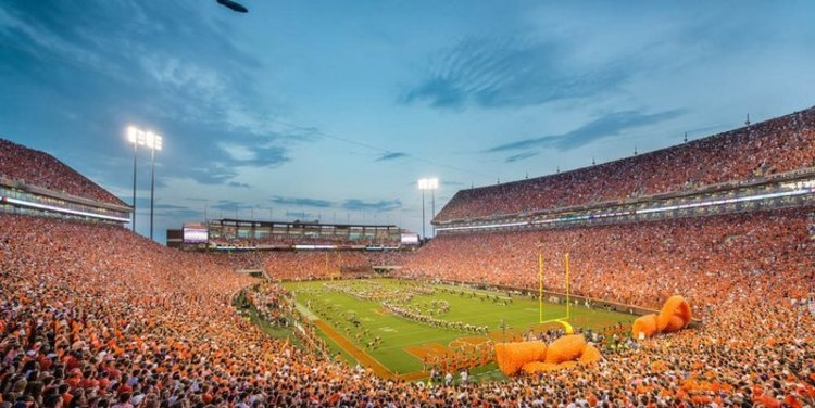 A study released Thursday says Clemson home games are among the top-5 priciest <br> in college football currently.