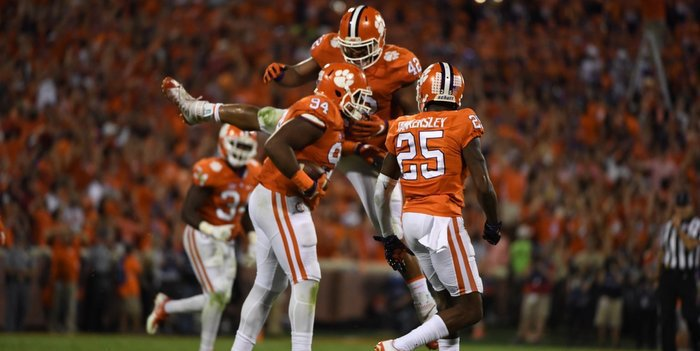 Clemson's defense made the plays when it counted Saturday night