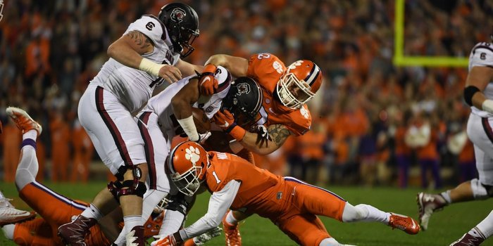 Clemson's defense will have their hands full with Jake Bentley Saturday night