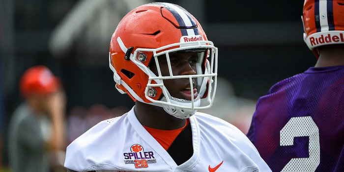Tavien Feaster broke off another long run Wednesday