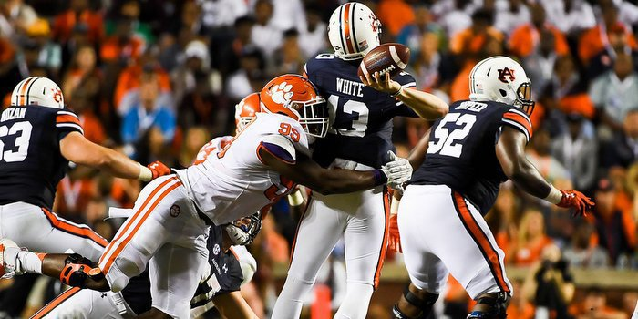 Ferrell takes aim at Auburn quarterback Sean White Saturday