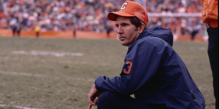 Danny Ford was in his first year as Clemson's OL coach in 1977