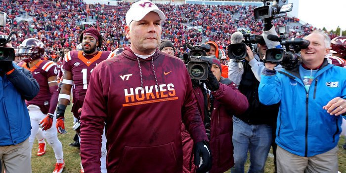 Fuente has Virginia Tech playing for the ACC title in his first season (Photo by Peter Casey, USAT)