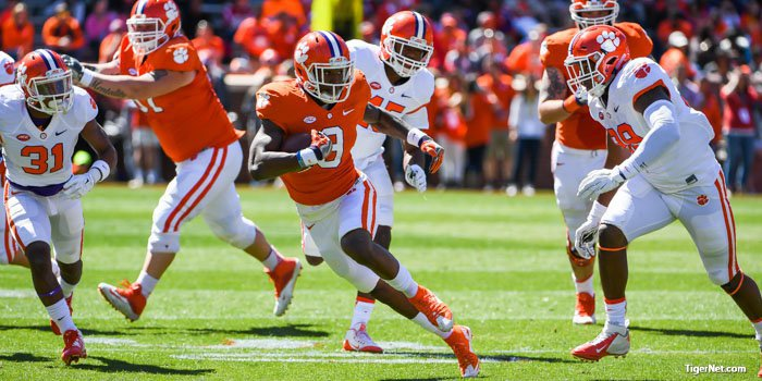 Quick hits from the spring game