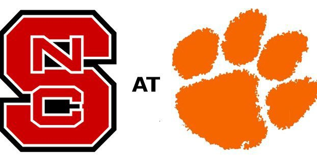 Clemson and NC State kick off a little after noon