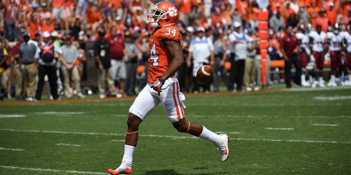 McCloud's mistake cost the Tigers a touchdown