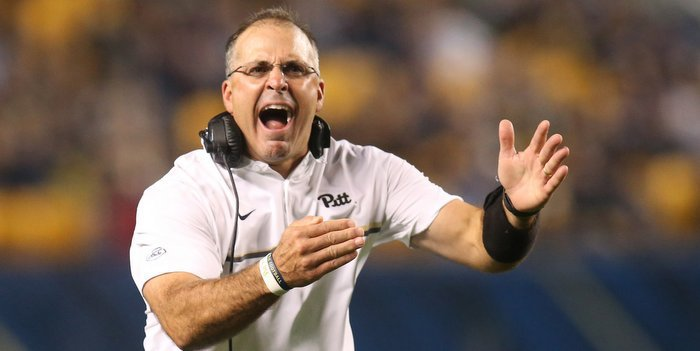 Narduzzi's team has lost two straight (Photo by Charles LeClaire, USAT)